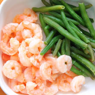 Light Lime-Garlic Shrimp.