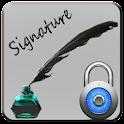 Signature Screen Lock icon