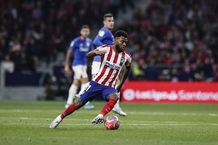 Thomas Lemar blessé, annonce l'Atlético Madrid