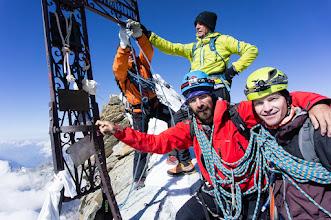 Photo: italský vrchol Matterhornu