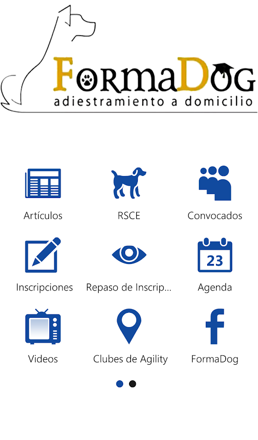 FormaDog App- screenshot