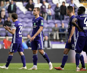 Deux Anderlechtois incertains pour le match face au Cercle