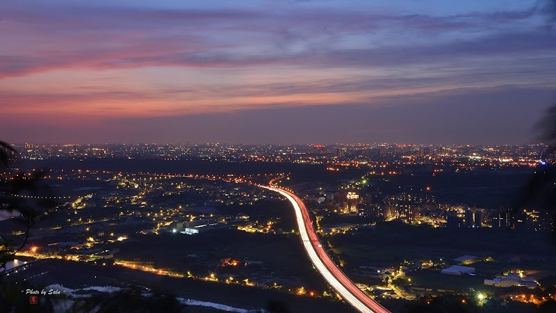 新北 三峽 鳶山 夜景 攝