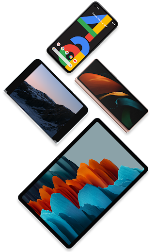 Plusieurs appareils Android