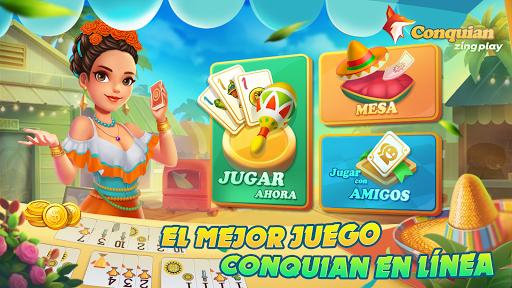 Conquian Zingplay: el mejor juego de cartas gratis filehippodl screenshot 1