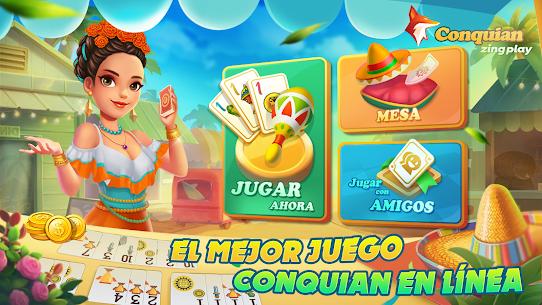 Conquian Zingplay: el mejor juego de cartas gratis 1