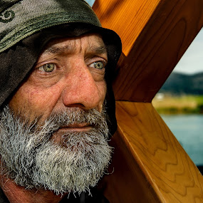 SIMON THE ZEALOT by Andrija Vrcan - People Portraits of Men ( simon the zealot., bible, view, man, portrait, eyes,  )