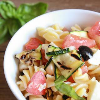 Italian Pasta Salad with Fresh Summer Vegetables