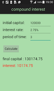 FinCalc- screenshot thumbnail
