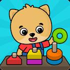 Развивающие игры для детей от 2 до 5 лет icon
