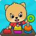Learning games for toddlers age 3 icon