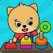 形と色-幼児向けゲーム