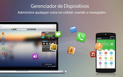 AirDroid - Android on Computer: miniatura da captura de tela
