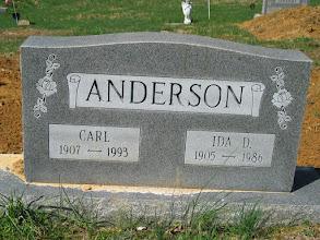 Photo: Anderson, Carl and Ida D.