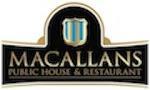Logo for Macallans Public House