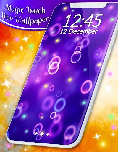 Live Wallpaper Magic Touch 4.5.0 screenshots 8