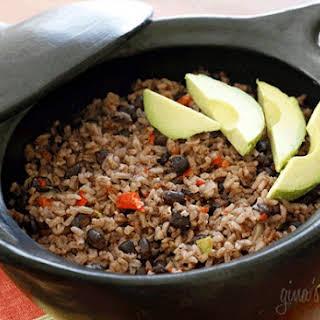 Arroz Congri (Cuban Rice and Black Beans).