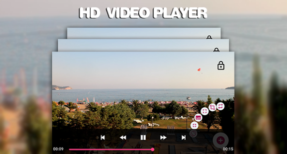 Awesome Video Player - náhled