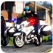 US Police Motor bike Riding Chase 2019