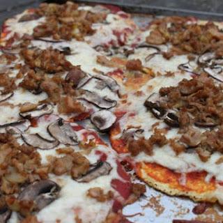 Clam and Garlic Tortilla Pizza