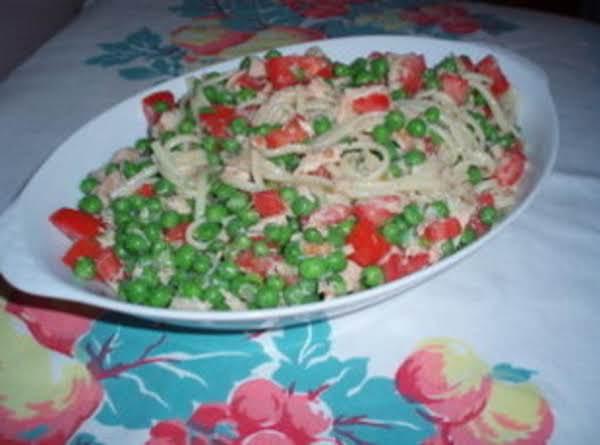 Linguine Tuna Salad