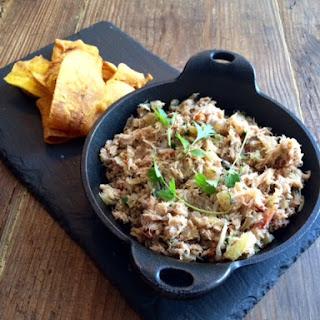 Baked Brazilian Coconut Crab Dip