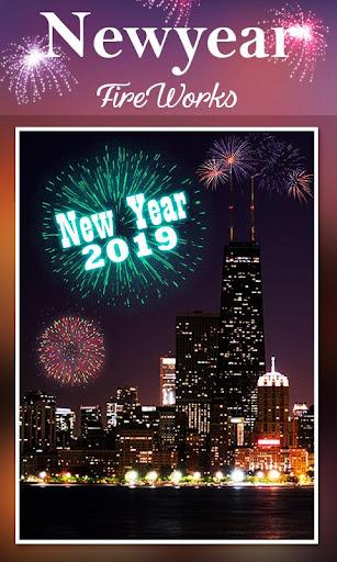 2019 New Year Fireworks Live Wallpaper 1.0.10 screenshots 7