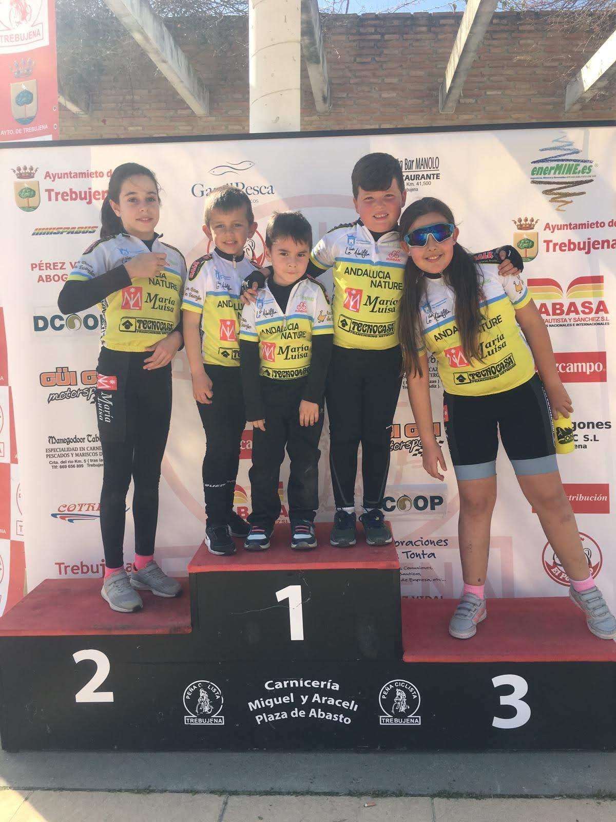 Ciclismo, buen papel para los algecireños en Trebujena