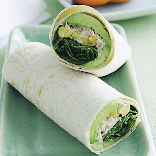 Tuna and Sweet Corn Wraps