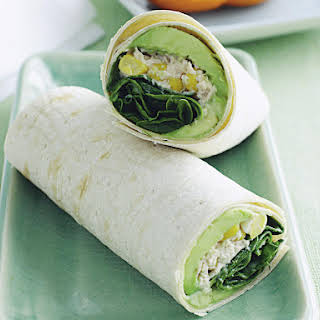 Tuna and Sweet Corn Wraps.