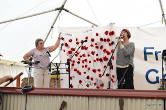 Photo: 5000 Poppies Project - 100 made during the Gathering