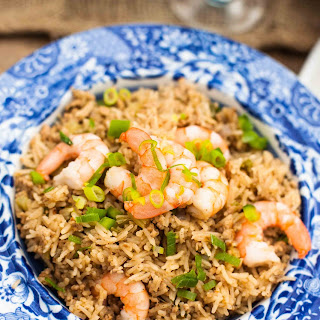 Cajun Dirty Rice with Shrimp Recipe