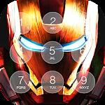 Iron Superhero Lock Screen Icon