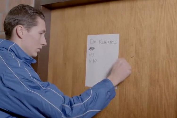 ? Spelers Club Brugge spelen benefietmatch met kinderen, Wesley deelt gele kaart uit voor... elleboogje