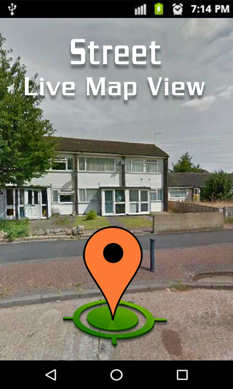 Live Map And Street View Satellite Navigation Android Apps On - Real life satellite view