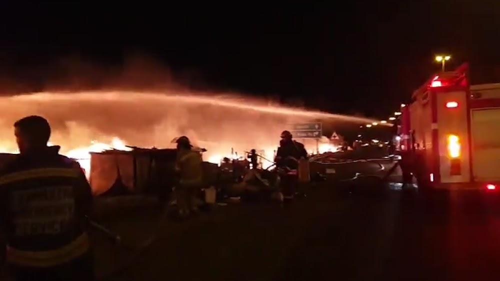 KYK   Meer as 200 hutte wat deur vuur verwoes is, honderde haweloses in Kempton Park - SowetanLIVE