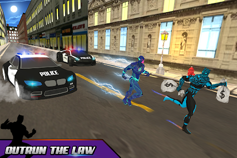 Super Panther Hero Bank Robbery: Crime City