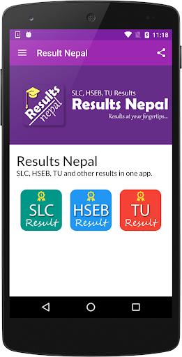 Results for SLC HSEB TU Exam