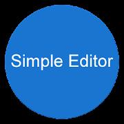 Simple Editor APK