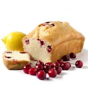 Mini Lemon Cranberry Loaf