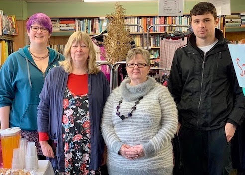 "Happy 10th for ""vital"" charity shop"