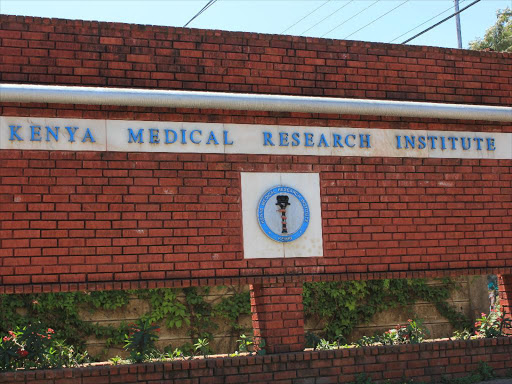 Kenya Medical Research Institute out of masks..