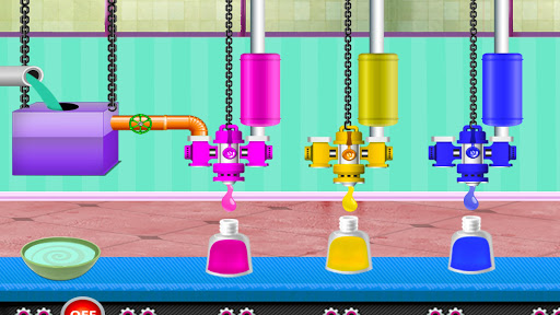 Nail Polish Fashion Factory: Nail Art Design Games 1.0.2 screenshots 1