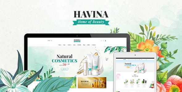 Havina - Cosmetic magento theme