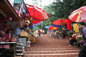 Photo: Day 336 - Market Stalls on the Way up to the Wat on Doi Suthep