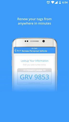 PA DMV Secure Tag Renewal