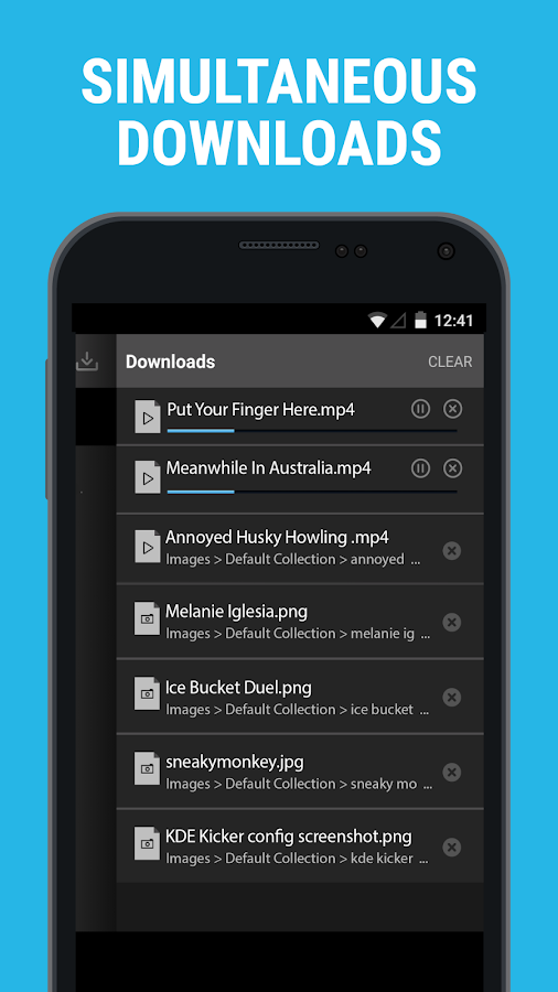 Downloader & Private Browser- screenshot