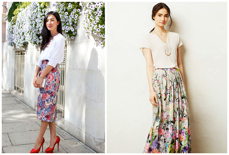 6 Ways To Wear Floral Skirt | Wishary | Discover and Shop the ...