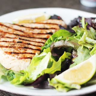 Ginger-Lime Marinated Swordfish