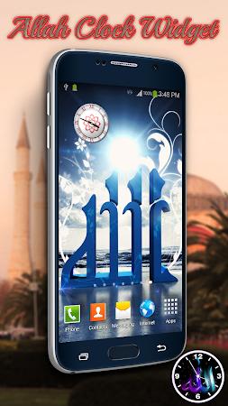 Allah Clock Widget 1.1.1 screenshot 333732